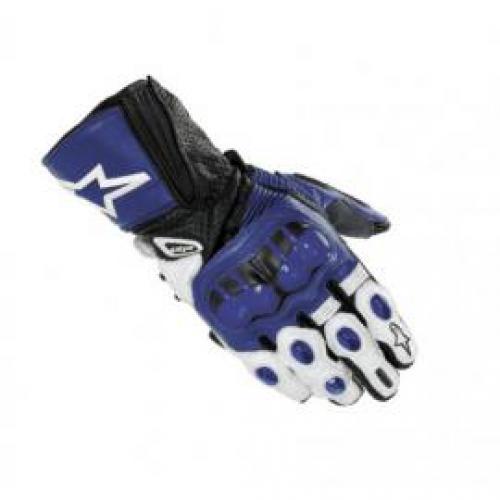 Sportovní kožené rukavice Alpinestars GP PLUS modré 1414f6b557